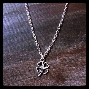 4 Leaf Clover Charm Necklace: Free with Purchase!